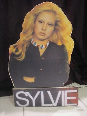SYLVIE VARTAN  plv presentoir stand up   display 40cm