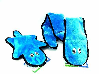 Ancol Dog Puppy Squeaky Soft Plush Super Snake or Monster Toy