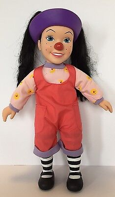 "Big Comfy Couch Loonette 15"" Non-talking Clown Doll"