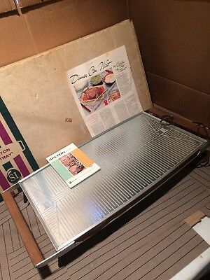 Vintage Salton Hotray Electric Warming Tray Hot Plate Food Warmer H-140
