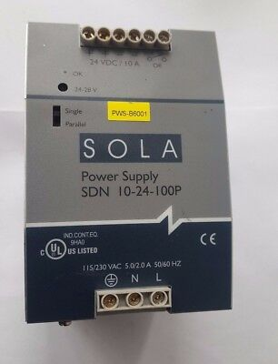 Sola Sdn 10-24-100P Power Supply (R5S12.8B1)