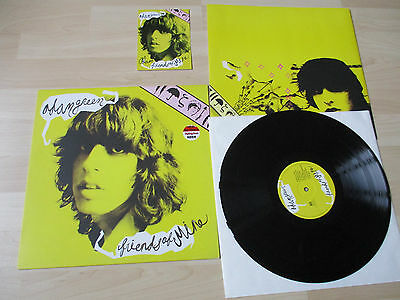 Adam Green Friends Of Mine Original Vinyl Lp With Autographed/ Signed Card !