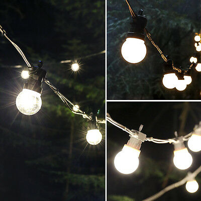 Connectable 5M Outdoor Garden Wedding Party Tree Festoon Bulb Led String Lights