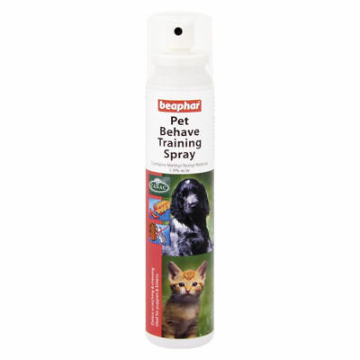 Beaphar Dog Cat Behaviour Training Spray Behave Obedience Scratching Chewing