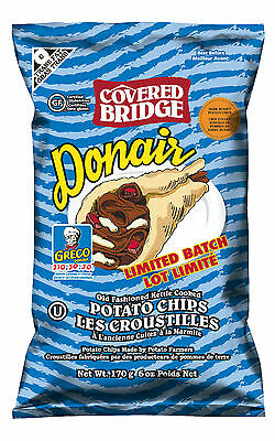 Kebab Chips Limited Edition Rare exclusive to Canada Donair flavor