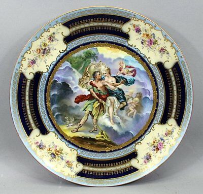 Large Royal Vienna  Austria Charger Plate
