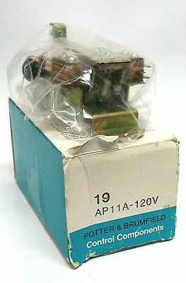 Potter & Brumfield P&b Amf 19 Ap11A-120V  Step Relay