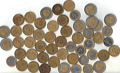 Dominican Republic Large  Lot Of 52 Coins