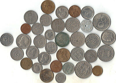 Lot Of 36 Coins From Greece