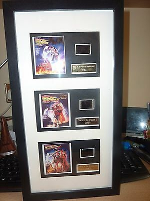 Film Cell Presentation Back to the Future 1,2 and 3 Framed