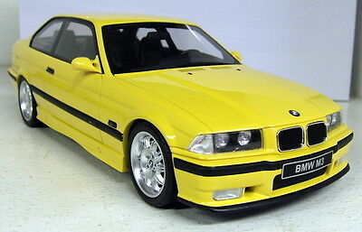Otto 1/18 Scale - BMW M3 E36 Evo 3.2 etc Dakar Yellow Resin cast Model Car