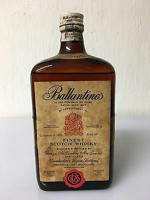 Ballantine's Finest Scotch Whisky 112,5 Cl 43% Vol Reseved For FAO Anni 50