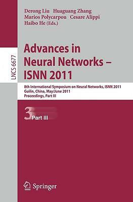 Advances in Neural Networks -- ISNN 2011