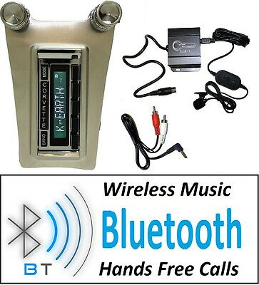 1963-1967 Chevy Corvette Bluetooth Radio Hands Free 300 Watts 630 II-BT **