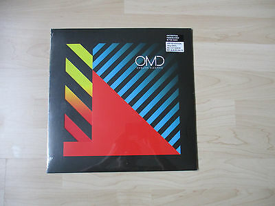 Omd English Electric Lp + Cd Limited Vinyl Die-Cut New Sealed