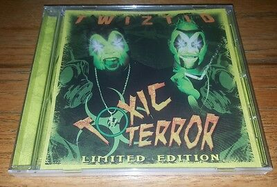 NEW TWIZTID TOXIC TERROR RARE CD SEALED house of krazees insane clown posse