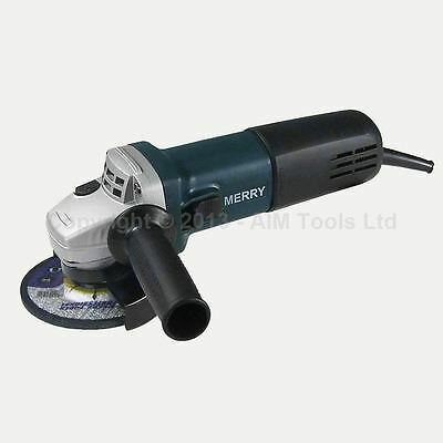 MERRY® 4.5 inch 115MM Electric Professional Cutting Grinding Angle Grinder 710W
