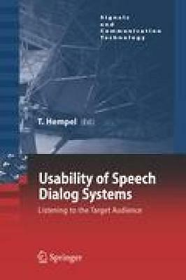 Hempel, Thomas: Usability of Speech Dialog Systems
