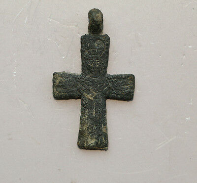 Super RARE Kievan-Rus - Viking Pendant Cross 10-11 AD