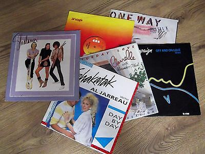 "6 X 12"" Records - Job Lot - Disco & Soul Collection - Ex"