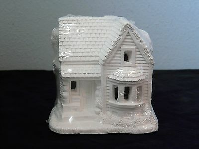 Creative Crafts California Creations 10305 Country House Unpainted Village