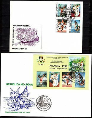 MOLDAWIEN / MOLDOVA 1993-2007 FDC Collection / ETB Kollektion. Auswahl / Choice