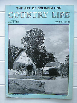 Vintage Country Life Magazine 9 July 1948 Old Wisley Cranbrook Kent 2