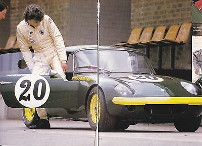 10 LOT Vintage Lotus ELAN Mk 1 Automobile, Magazine Articles, UK Issue