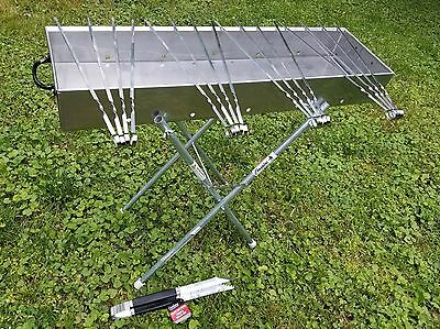 Stainless Steel, Professional Grade, All-In-One Mangal Set.