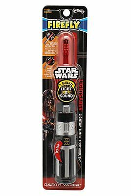 Firefly Star Wars Darth Vader Lightsaber Light-Up Timer+Sound Toothbrush