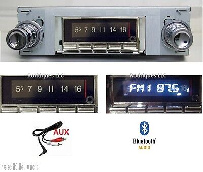 1968-1979 Ford Fairlane Stereo Bluetooth Radio Mult Color Display Free Aux 740