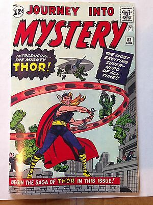 Journey Into Mystery 83, 1962, Thor, Coverless with Reproduction Cover