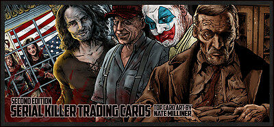 """The New Serial Killer Trading Cards-  Numbered, """"Certificate of Authenticity"""""""