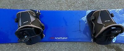 Snowboard with Boots and Bindings (Mens Size 10.5 US)
