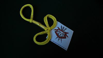 Tox Surgeon Archery Finger Sling  Bow Sling Yellow Three Finger