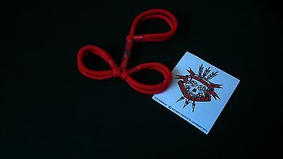 Tox Surgeon Archery Finger Sling  Bow Sling Red Three Finger