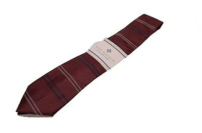 Ryan Seacrest Distinction Cali Horizontal-Stripe Slim Tie