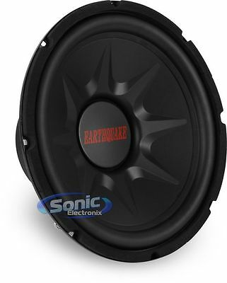 "EARTHQUAKE SOUND 1250W 12"" Single 4 Ohm TNT SERIES Car Subwoofer 