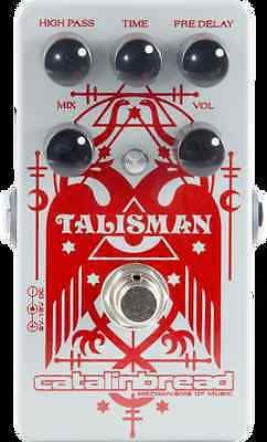 New Catalinbread Talisman Plate Reverb voiced guitar effects pedal