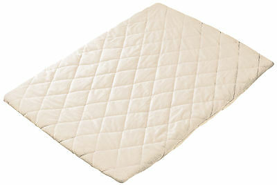 Quilted Travel Cot Sheet - Pink or Blue or Cream or Charcoal- HIGH QUALITY <,