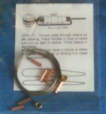 Cox 1/2 A Model Airplane Control Line Lead-out Kit, All New