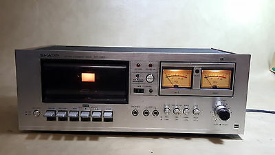 Sharp RT-1157 Stereo Cassette Recorder VINTAGE Tape Player - untested