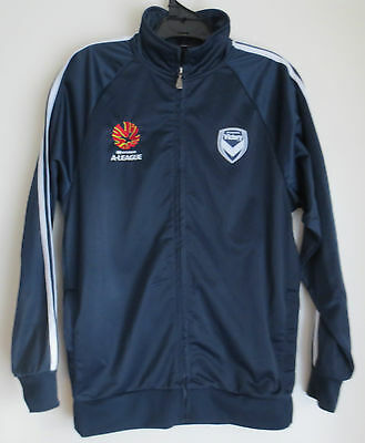 MELBOURNE VICTORY A-League Official Supporter Zip-up Jacket Size (S) *Polyester