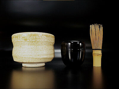 Utensils Japanese tea ceremony scoop bamboo whisk Netsuke barrel Nodate basket