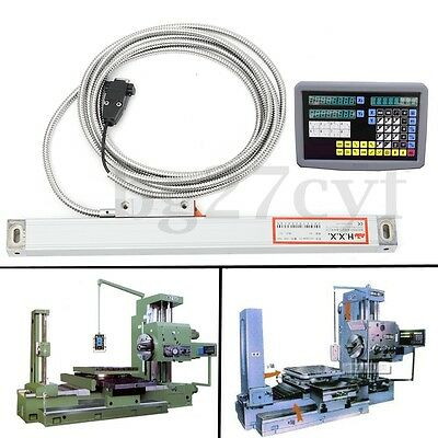 Digital Readout Milling Machine 2 Axis Electronic Scale Lathe Grating TTL