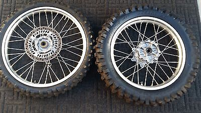 2002 Honda Xr650R  Front And Rear  Wheels
