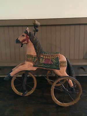 Wooden Toy Folk Art Horse