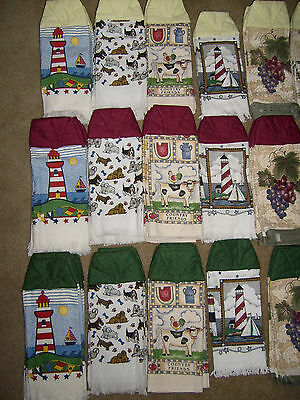 BRAND NEW HAND CRAFTED COTTON HAND TOWELS WITH STICKY CLOSURES LISTING (2 of 4)