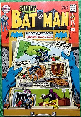 BATMAN (1940) #218 FN+ (6.5) giant size (G67)