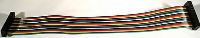 """HCSD-13-D-09.00-01-T .100""""(2.54 mm) pitch Double Row IDC Ribbon Cable Assembly"""